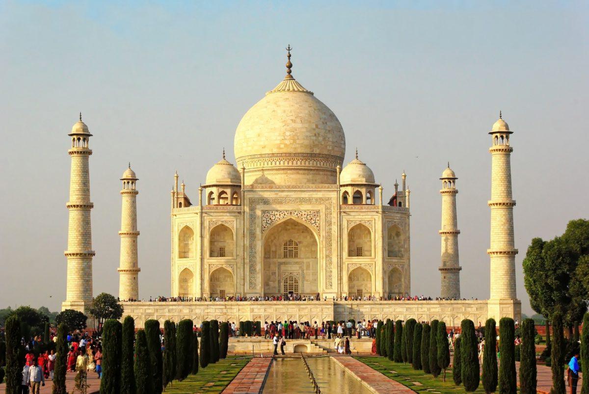 Taj Mahal, ett av världens sju nya underverk