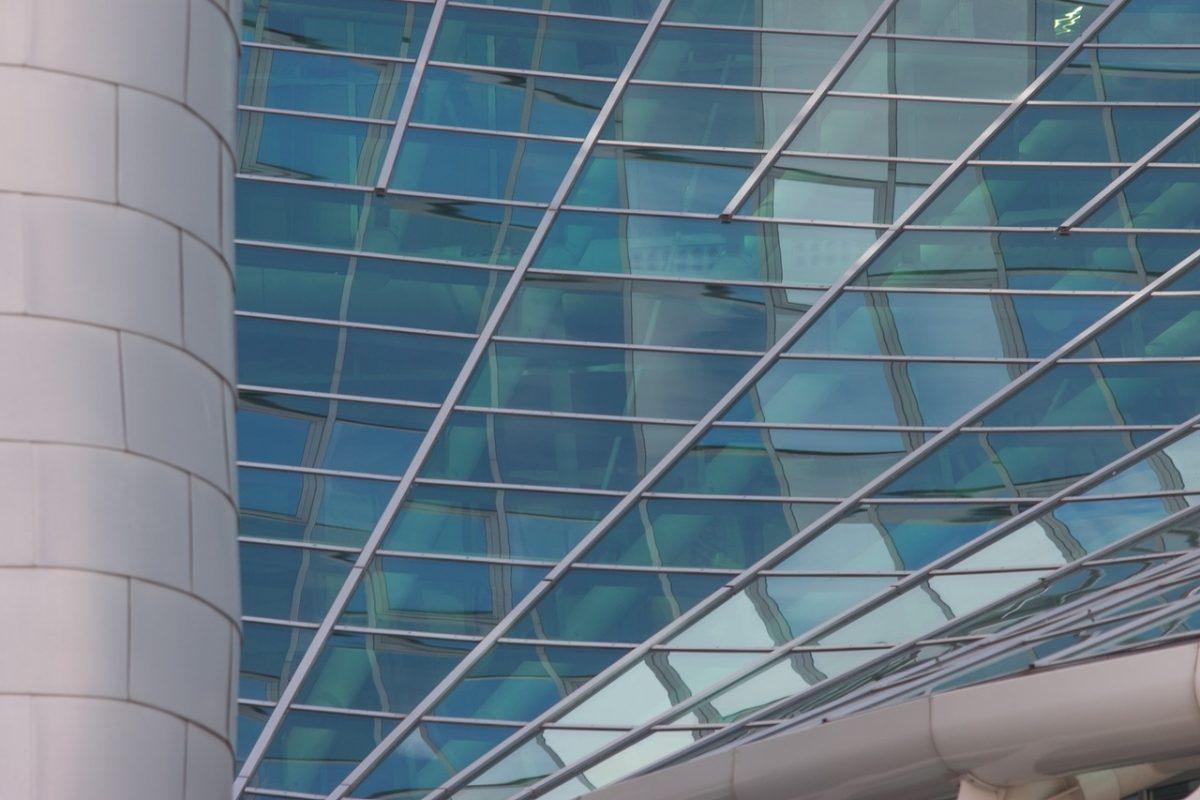 Byggnadsglas, ger byggnaden ett estetiskt intryck