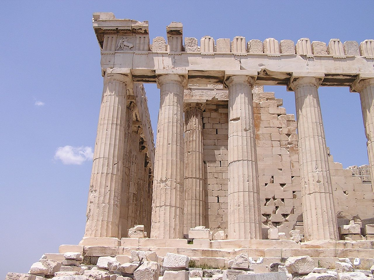 Parthenon, en byggnad med osäker framtid